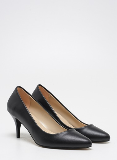F By Fabrika Kadın Gri Ayakkabı CORTEZ Siyah